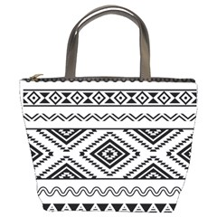 Aztec Pattern Bucket Bags