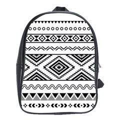 Aztec Pattern School Bags(large)