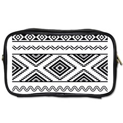 Aztec Pattern Toiletries Bags 2-Side