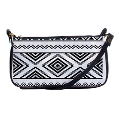 Aztec Pattern Shoulder Clutch Bags