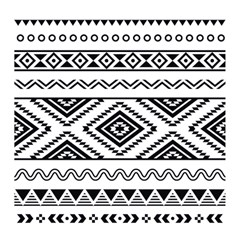 Aztec Pattern Magic Photo Cubes