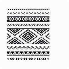Aztec Pattern Large Garden Flag (two Sides)