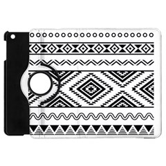 Aztec Pattern Apple iPad Mini Flip 360 Case