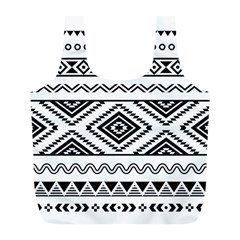 Aztec Pattern Full Print Recycle Bags (l)