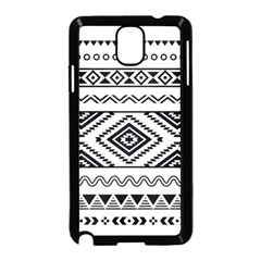 Aztec Pattern Samsung Galaxy Note 3 Neo Hardshell Case (black)