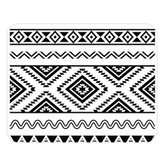 Aztec Pattern Double Sided Flano Blanket (large)