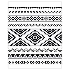 Aztec Pattern Drawstring Bag (Small)