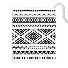 Aztec Pattern Drawstring Pouches (XXL)