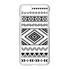 Aztec Pattern Apple Iphone 7 Seamless Case (white)