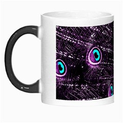 Bird Color Purple Passion Peacock Beautiful Morph Mugs