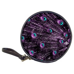 Bird Color Purple Passion Peacock Beautiful Classic 20 Cd Wallets