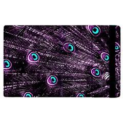 Bird Color Purple Passion Peacock Beautiful Apple Ipad 2 Flip Case