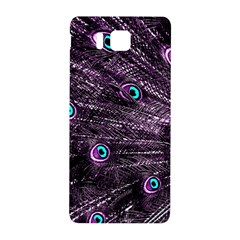 Bird Color Purple Passion Peacock Beautiful Samsung Galaxy Alpha Hardshell Back Case