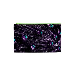 Bird Color Purple Passion Peacock Beautiful Cosmetic Bag (xs)