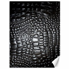 Black Alligator Leather Canvas 36  X 48