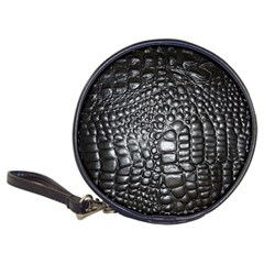 Black Alligator Leather Classic 20 Cd Wallets
