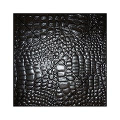 Black Alligator Leather Acrylic Tangram Puzzle (6  X 6 )