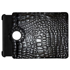 Black Alligator Leather Kindle Fire Hd 7