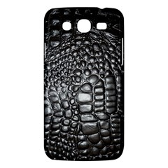 Black Alligator Leather Samsung Galaxy Mega 5 8 I9152 Hardshell Case