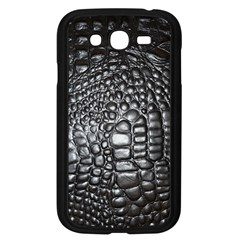 Black Alligator Leather Samsung Galaxy Grand Duos I9082 Case (black)