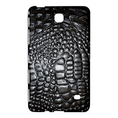 Black Alligator Leather Samsung Galaxy Tab 4 (8 ) Hardshell Case