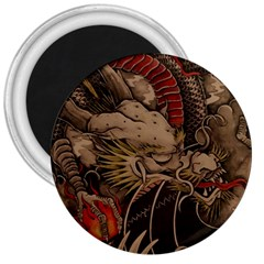 Chinese Dragon 3  Magnets