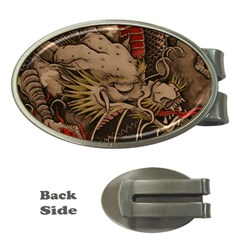 Chinese Dragon Money Clips (oval)