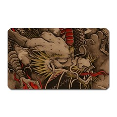Chinese Dragon Magnet (rectangular)
