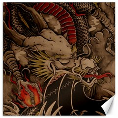 Chinese Dragon Canvas 12  X 12