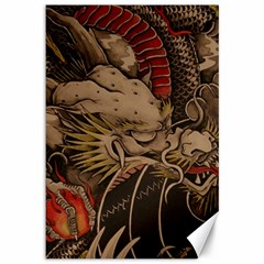 Chinese Dragon Canvas 12  x 18