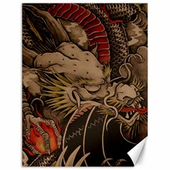 Chinese Dragon Canvas 18  X 24