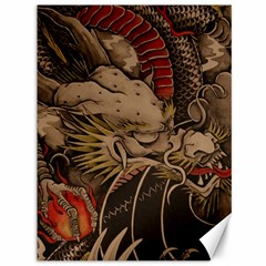 Chinese Dragon Canvas 36  X 48
