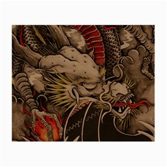 Chinese Dragon Small Glasses Cloth (2-Side)