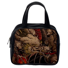 Chinese Dragon Classic Handbags (one Side)
