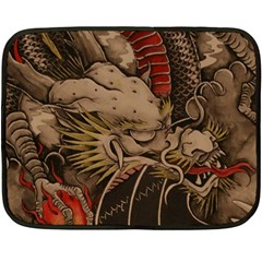 Chinese Dragon Double Sided Fleece Blanket (mini)