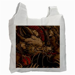 Chinese Dragon Recycle Bag (two Side)