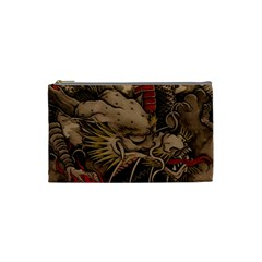 Chinese Dragon Cosmetic Bag (small)