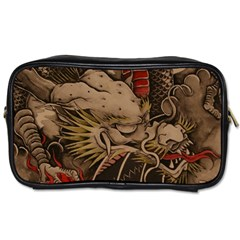 Chinese Dragon Toiletries Bags