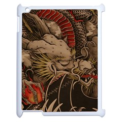 Chinese Dragon Apple iPad 2 Case (White)