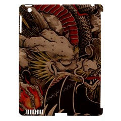 Chinese Dragon Apple iPad 3/4 Hardshell Case (Compatible with Smart Cover)