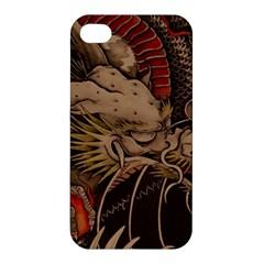 Chinese Dragon Apple Iphone 4/4s Premium Hardshell Case
