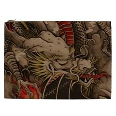 Chinese Dragon Cosmetic Bag (XXL)