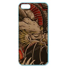 Chinese Dragon Apple Seamless iPhone 5 Case (Color)