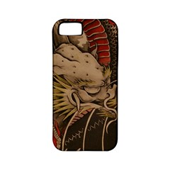 Chinese Dragon Apple iPhone 5 Classic Hardshell Case (PC+Silicone)