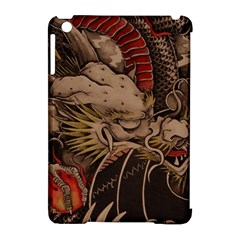 Chinese Dragon Apple Ipad Mini Hardshell Case (compatible With Smart Cover)
