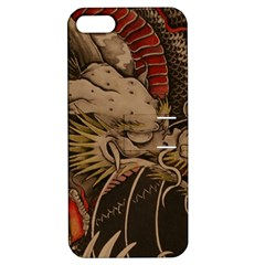Chinese Dragon Apple Iphone 5 Hardshell Case With Stand