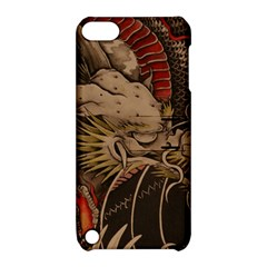 Chinese Dragon Apple Ipod Touch 5 Hardshell Case With Stand