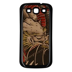 Chinese Dragon Samsung Galaxy S3 Back Case (black)