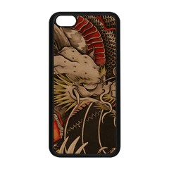 Chinese Dragon Apple Iphone 5c Seamless Case (black)