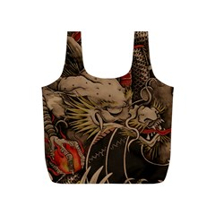 Chinese Dragon Full Print Recycle Bags (s)